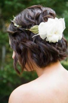 50 Braids Short Hair Wedding Hairstyles Ideas 48