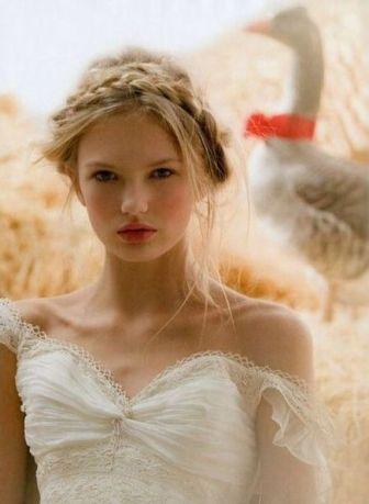 50 Braids Short Hair Wedding Hairstyles Ideas 49