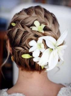 50 Braids Short Hair Wedding Hairstyles Ideas 52