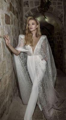 50 Bridal Jumpsuits Look Ideas 15