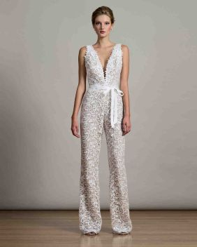 50 Bridal Jumpsuits Look Ideas 17