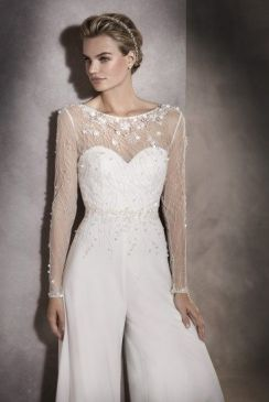 50 Bridal Jumpsuits Look Ideas 28