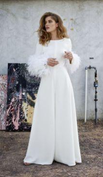 50 Bridal Jumpsuits Look Ideas 30