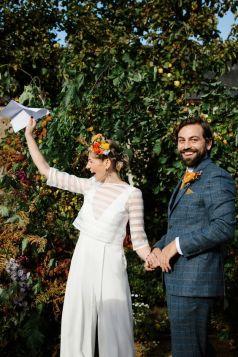 50 Bridal Jumpsuits Look Ideas 36