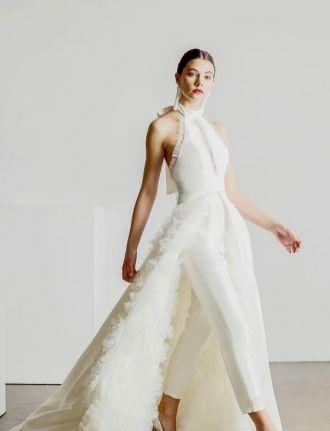 50 Bridal Jumpsuits Look Ideas 4