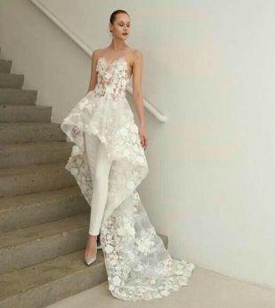 50 Bridal Jumpsuits Look Ideas 44