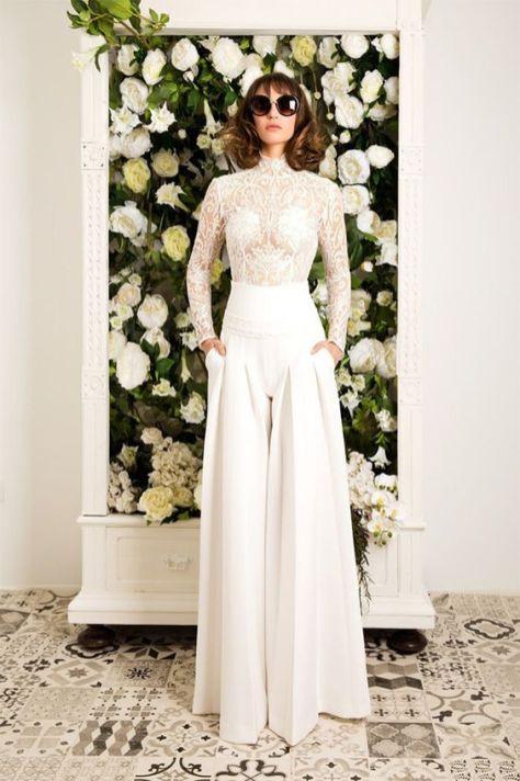 50 Bridal Jumpsuits Look Ideas 5
