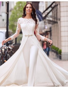 50 Bridal Jumpsuits Look Ideas 52