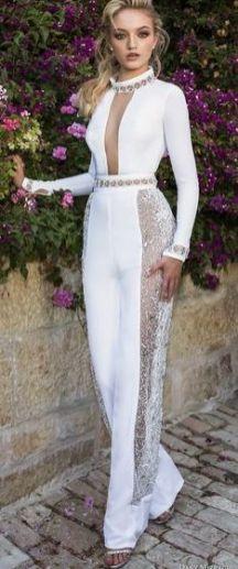 50 Bridal Jumpsuits Look Ideas 6