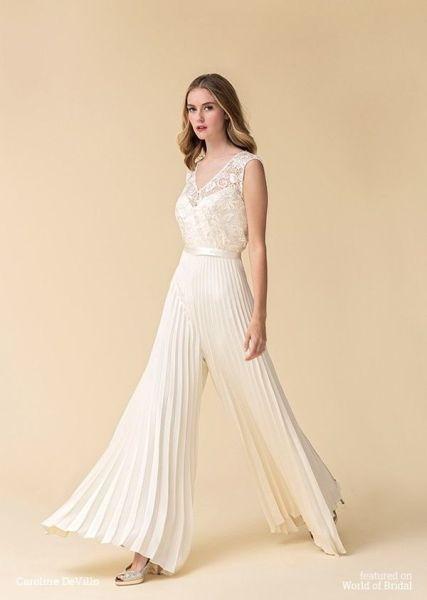 50 Bridal Jumpsuits Look Ideas 8