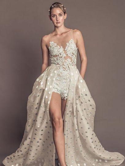 50 Bridal Jumpsuits Look Ideas 9