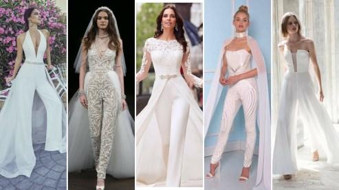 50 Bridal Jumpsuits Look Ideas