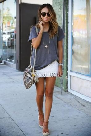 50 How to Wear an Oversized T Shirt Ideas 51