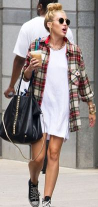 50 How to Wear an Oversized T Shirt Ideas 9