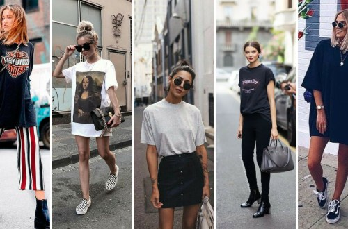 50 How to Wear an Oversized T Shirt Ideas