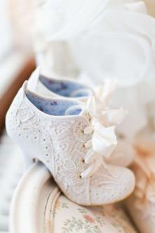 50 Lace Heels Bridal Shoes Ideas 10