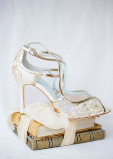 50 Lace Heels Bridal Shoes Ideas 11