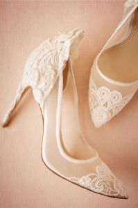 50 Lace Heels Bridal Shoes Ideas 14