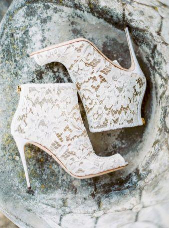 50 Lace Heels Bridal Shoes Ideas 17
