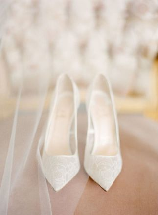 50 Lace Heels Bridal Shoes Ideas 30