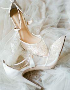 50 Lace Heels Bridal Shoes Ideas 37