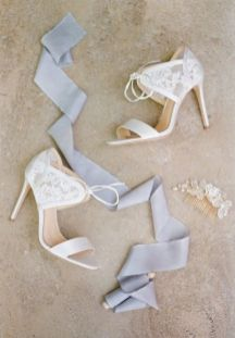 50 Lace Heels Bridal Shoes Ideas 46