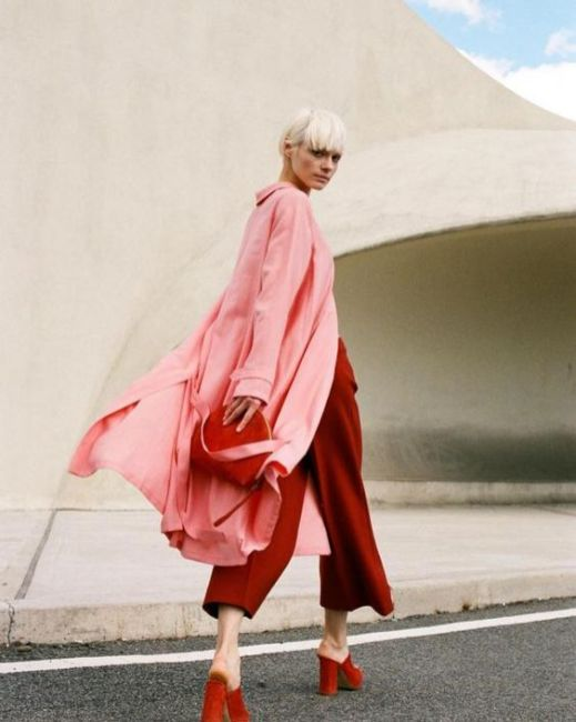 50 Möglichkeiten rosafarbene Outfits Ideen zu tragen 2