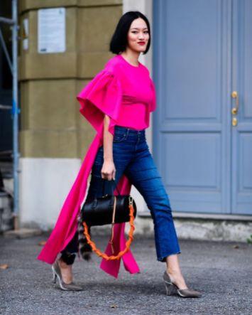 50 Möglichkeiten rosafarbene Outfits Ideen zu tragen 32