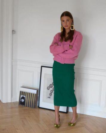 50 Möglichkeiten rosafarbene Outfits Ideen zu tragen 57
