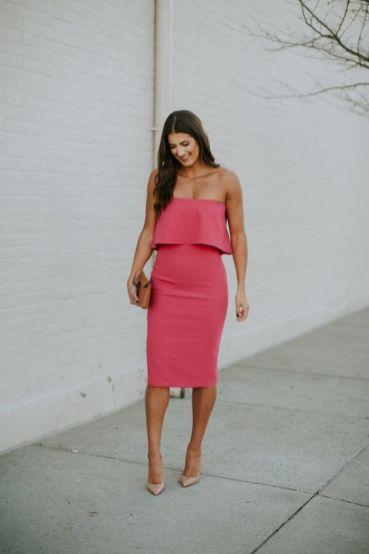 50 Möglichkeiten rosafarbene Outfits Ideen zu tragen 58