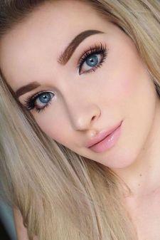 50 Perfekte natürliche Make up für Frauen Idee 24