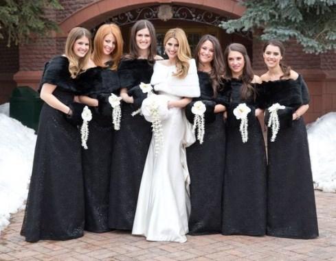 50 Schwarze Brautjungfernkleider Ideen 21 1