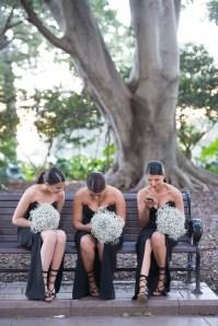 50 Schwarze Brautjungfernkleider Ideen 36