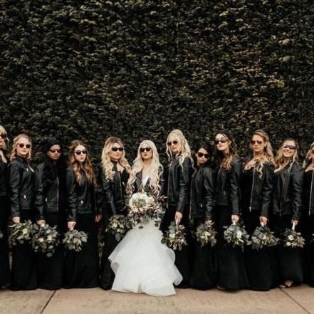 50 Schwarze Brautjungfernkleider Ideen 48