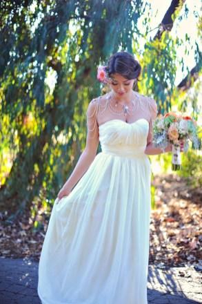 50 Shoulder Necklaces for Brides Ideas 13