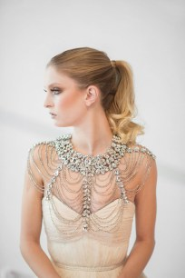 50 Shoulder Necklaces for Brides Ideas 21