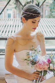 50 Shoulder Necklaces for Brides Ideas 28