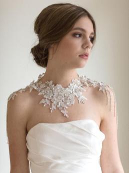 50 Shoulder Necklaces for Brides Ideas 3