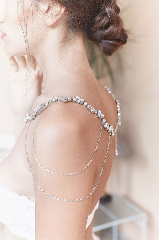 50 Shoulder Necklaces for Brides Ideas 40