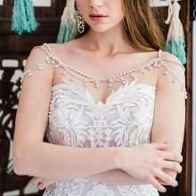 50 Shoulder Necklaces for Brides Ideas 48