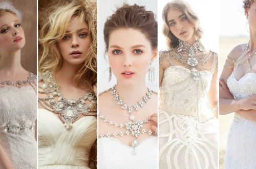 50 Shoulder Necklaces for Brides Ideas