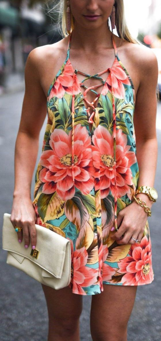 50 Summer Short Dresses Ideas 29