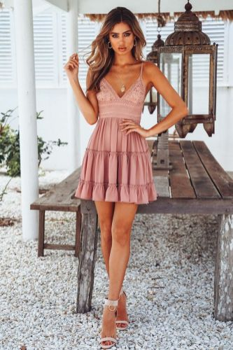 50 Summer Short Dresses Ideas 5
