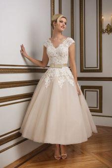 50 Tea Length Dresses For Brides Ideas 1 3