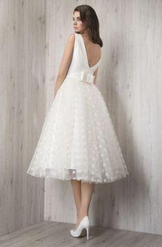 50 Tea Length Dresses For Brides Ideas 10 3
