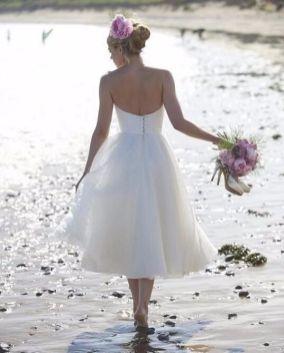 50 Tea Length Dresses For Brides Ideas 17 3