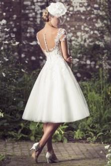50 Tea Length Dresses For Brides Ideas 28 3