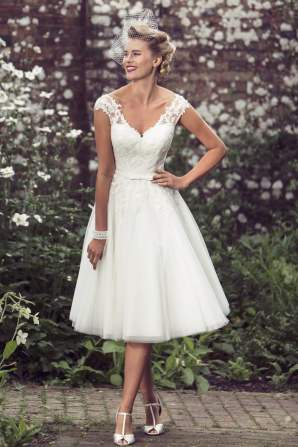 50 Tea Length Dresses For Brides Ideas 32 3