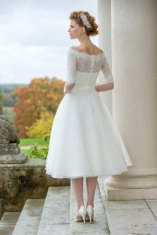 50 Tea Length Dresses For Brides Ideas 35 3