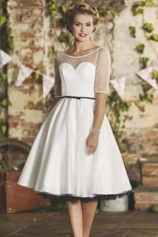 50 Tea Length Dresses For Brides Ideas 44 3